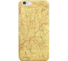 USGS TOPO Map Connecticut CT Gilead 331028 1892 62500 iPhone Case/Skin