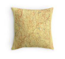 USGS TOPO Map Connecticut CT Gilead 331028 1892 62500 Throw Pillow