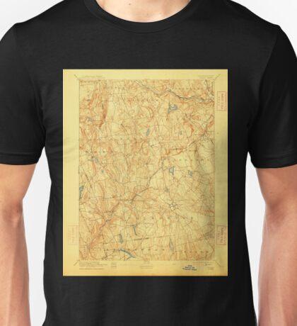 USGS TOPO Map Connecticut CT Gilead 331028 1892 62500 Unisex T-Shirt