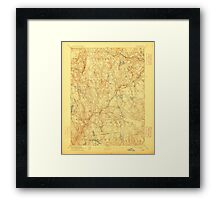 USGS TOPO Map Connecticut CT Gilead 331028 1892 62500 Framed Print