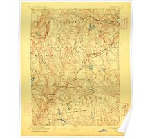 USGS TOPO Map Connecticut CT Gilead 331028 1892 62500 Poster