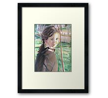 Sweet Mia Framed Print