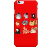 all caracter studio gibli iPhone Case/Skin