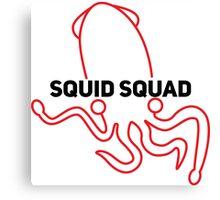 Squid Squad Canvas Print