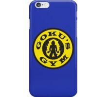 Goku's Gym (Gold's Gym Parody) iPhone Case/Skin