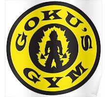 Goku's Gym (Gold's Gym Parody) Poster