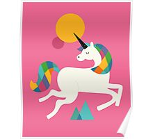 To be a unicorn Poster