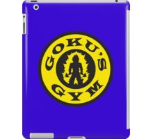 Goku's Gym (Gold's Gym Parody) iPad Case/Skin
