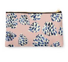 Banana Leaf Drops pattern Tropical Nude Studio Pouch