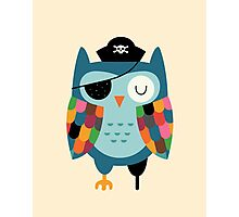 Captain whooo Photographic Print