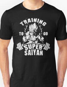 Training To Go Super Saiyan (Goku) T-Shirt