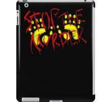 Stop the animal murder (DAFF2016) iPad Case/Skin