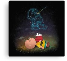 Best Friend Forever Snoopy Canvas Print