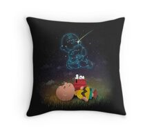 Best Friend Forever Snoopy Throw Pillow