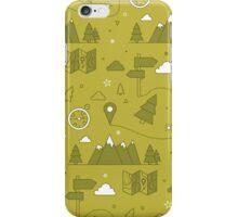 Camping Seamless Pattern iPhone Case/Skin