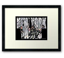 New York Values 9/11 Framed Print