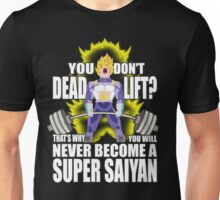 Do You Even Lift? (Vegeta) Unisex T-Shirt