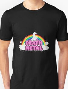 Death Metal Unicorn Unisex T-Shirt