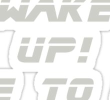 Blade Runner - Wake Up! Sticker