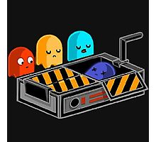 Ghost busted Pacman Photographic Print