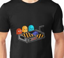 Ghost busted Pacman Unisex T-Shirt