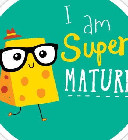 Super Mature Sticker