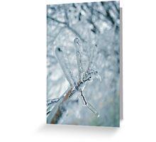 Frozen Tree Branch Greeting Card
