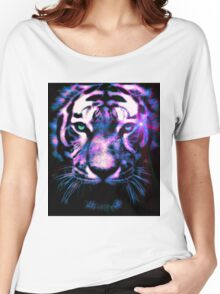 Tiger Surreal Women's Relaxed Fit T-Shirt