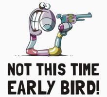 Early Bird Worm Kids Tee