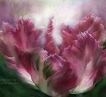 Parrot Tulip - Mauve by Carol  Cavalaris