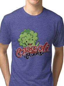 Broccoli Rocks  Tri-blend T-Shirt