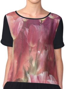 Tall Tulips Chiffon Top