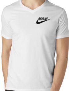 JAP PUNK Mens V-Neck T-Shirt