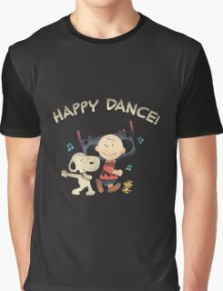 Happy Dance Snoopy Graphic T-Shirt