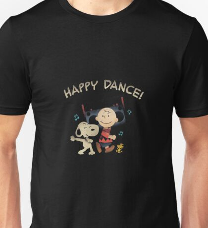 Happy Dance Snoopy Unisex T-Shirt