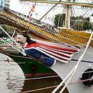 Ship's Figure Head by Woodie