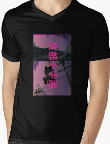 CITY SCAPE Mens V-Neck T-Shirt