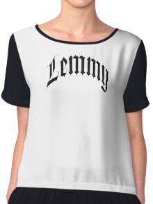 lemmy fornt Chiffon Top