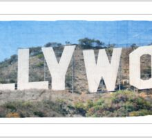 Hollywood Sticker