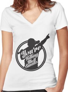 You're Killing Me Smalls Baseball Sandlot MLB Sports Women's Fitted V-Neck T-Shirt