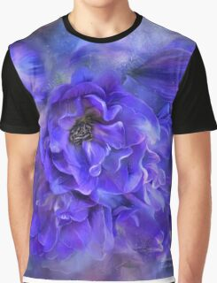 Delphinium Sea - A Dolphin Mystery Graphic T-Shirt