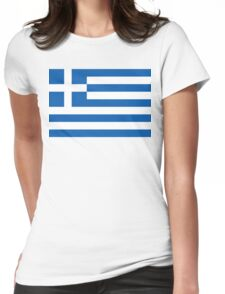 Greece Womens Fitted T-Shirt