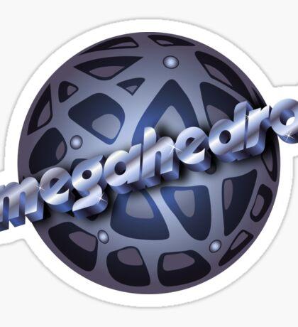 Argonian omegahedron Sticker