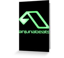 green-Anjunabeats Greeting Card