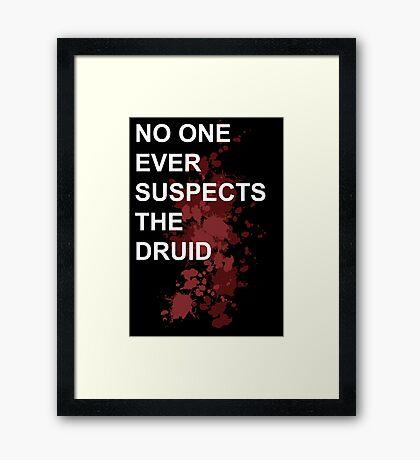 Murder Druid Framed Print