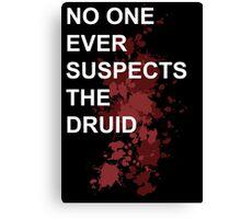 Murder Druid Canvas Print