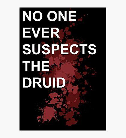 Murder Druid Photographic Print