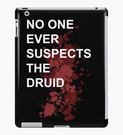 Murder Druid iPad Case/Skin