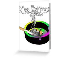 Mac DeMarco - smokin shit Greeting Card