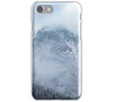 Mountain peaks iPhone Case/Skin